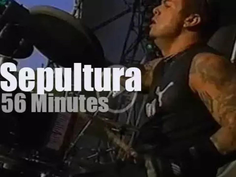 Sepultura enchant Lisbon (2004)