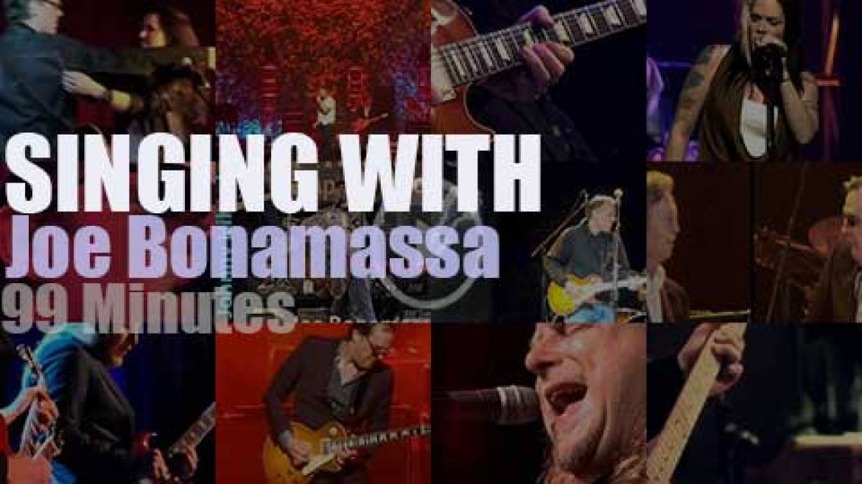 Singing (and Playing) With Joe Bonamassa