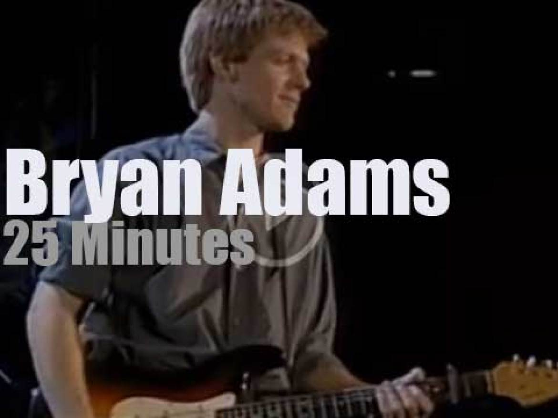 Bryan Adams performs for Amnesty (1986)