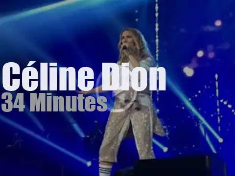 Celine Dion opens a tour in Copenhagen (2017)
