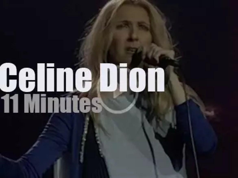 Celine Dion sings in Las Vegas (2018)