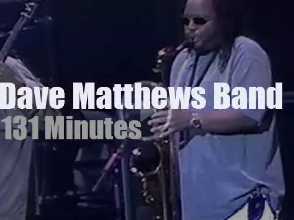 Dave Matthews and Band are in New-Jersey (2001)