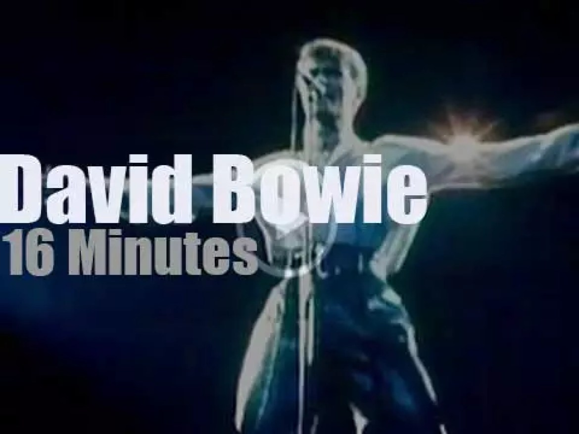 David Bowie spends two nights in London (1978)