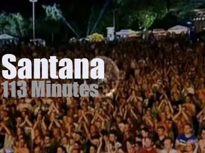 German TV 'Rockpalast' tapes Santana (1998)