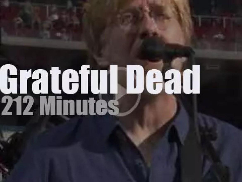Grateful Dead  say 'fare well' to Santa Clara (2015)