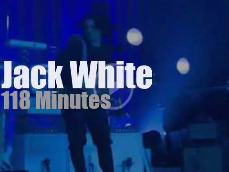 Jack White showcases 'Lazaretto' (2014)