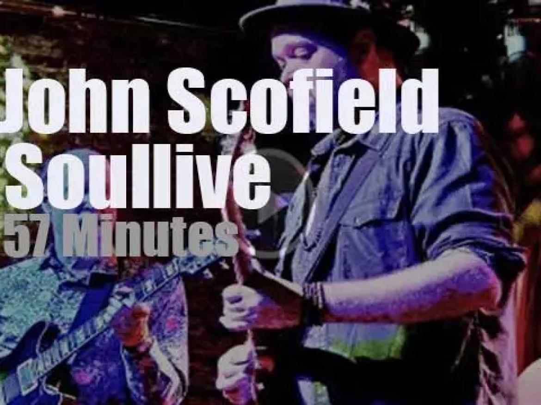 John Scofield joins Soulive (2017)