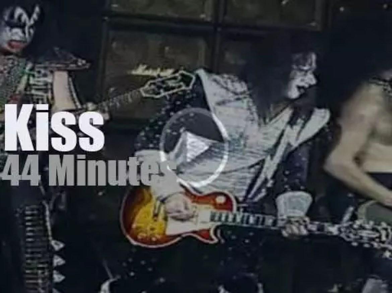 Kiss reunite for a local radio (1996)