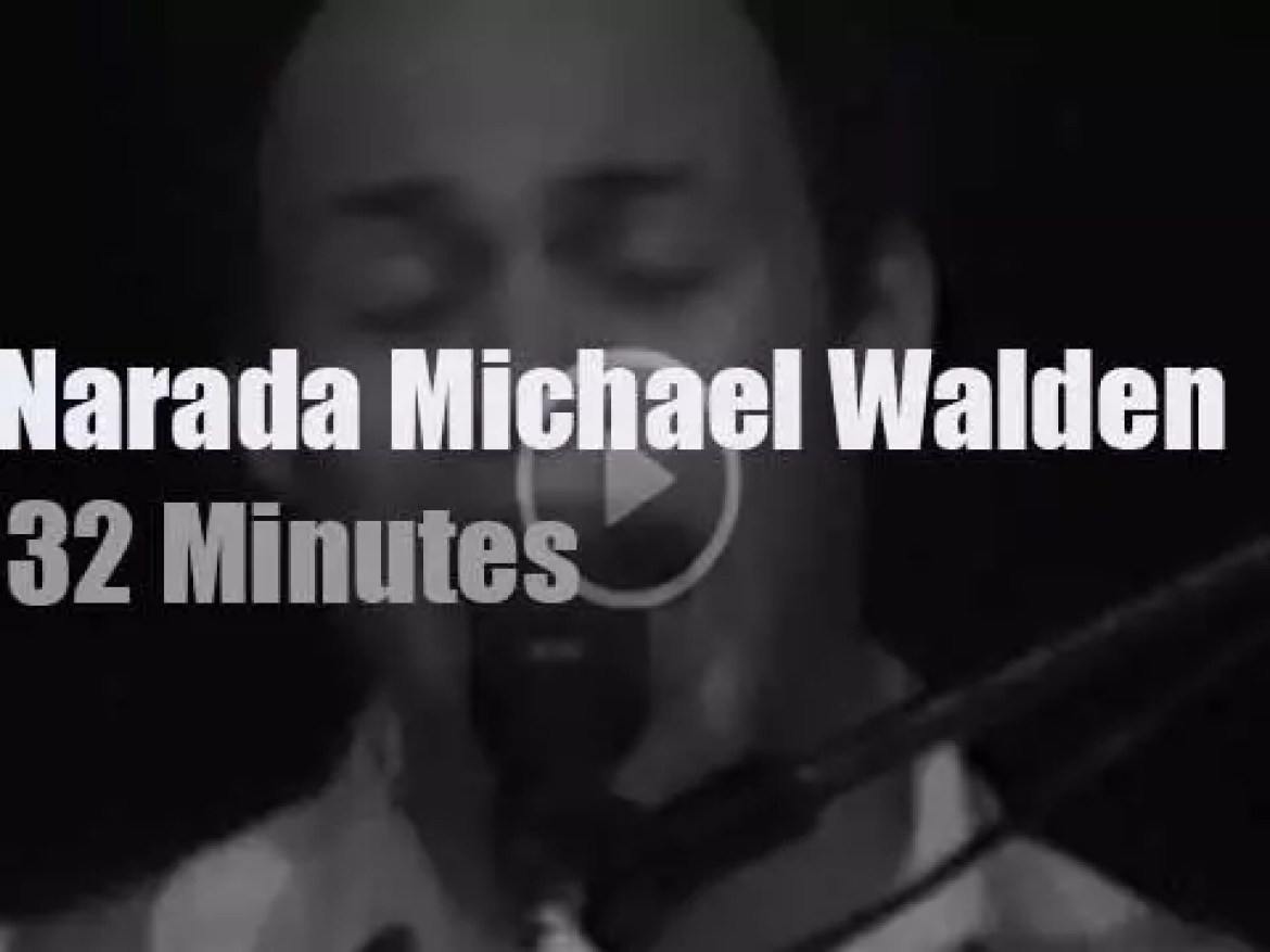 Narada Michael Walden drums in New-Jersey (1980)