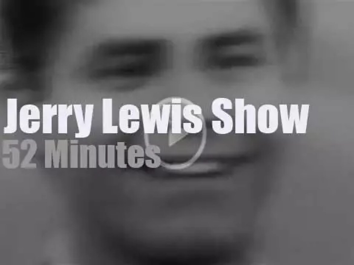 On TV today, the 'Jerry Lewis Show' on NBC (1957)