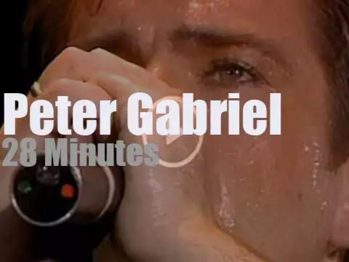 Peter Gabriel performs for Amnesty (1986)