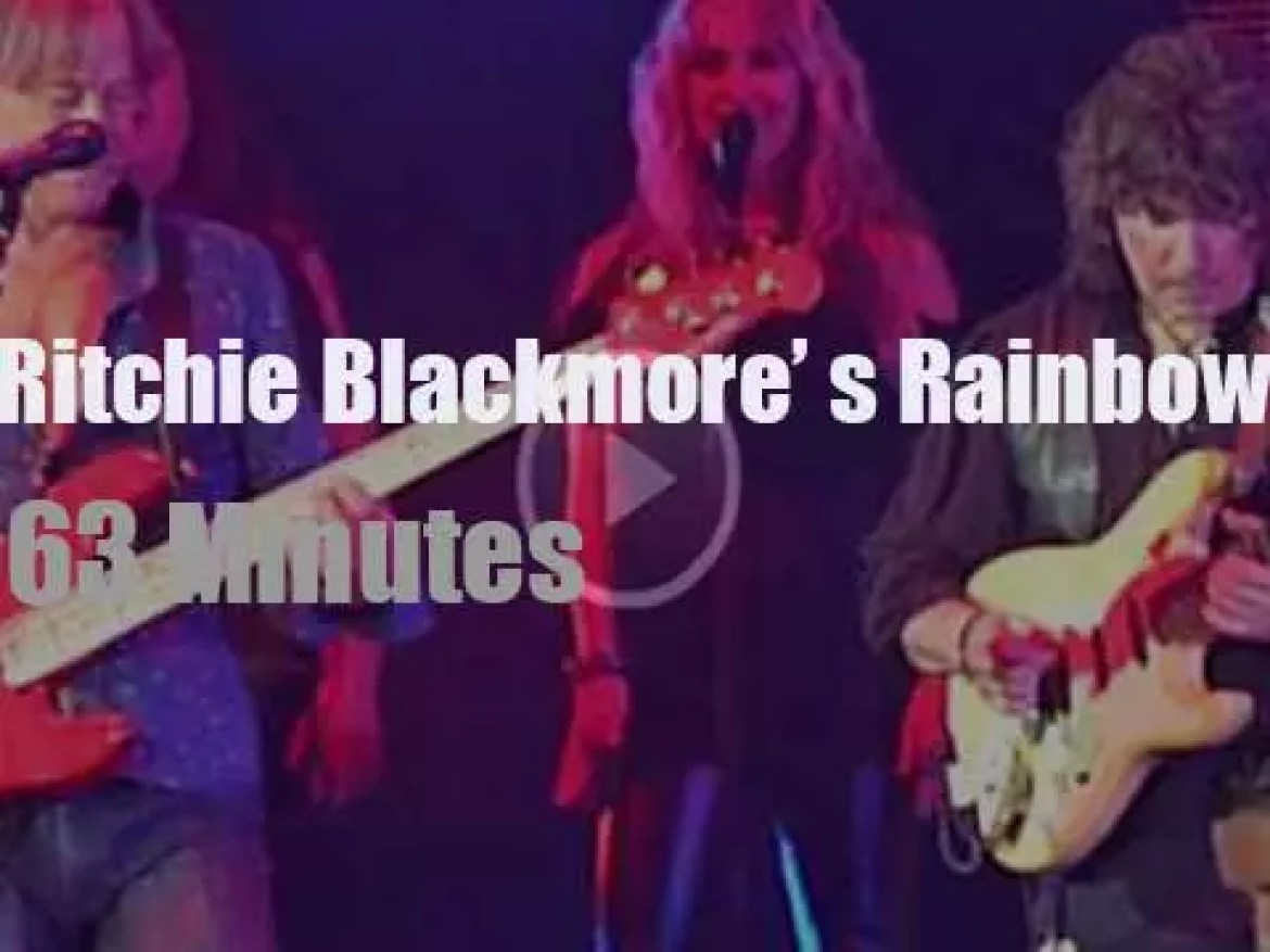 Ritchie Blackmore brings Rainbow to London (2017)