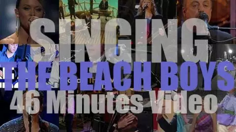 Singing The Beach Boys