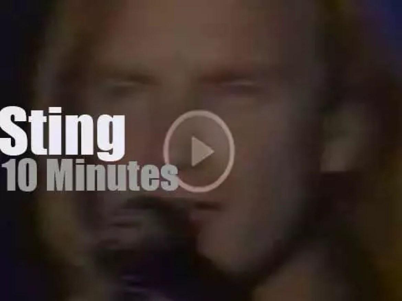 Sting sings at Montreux Jazz (1987)