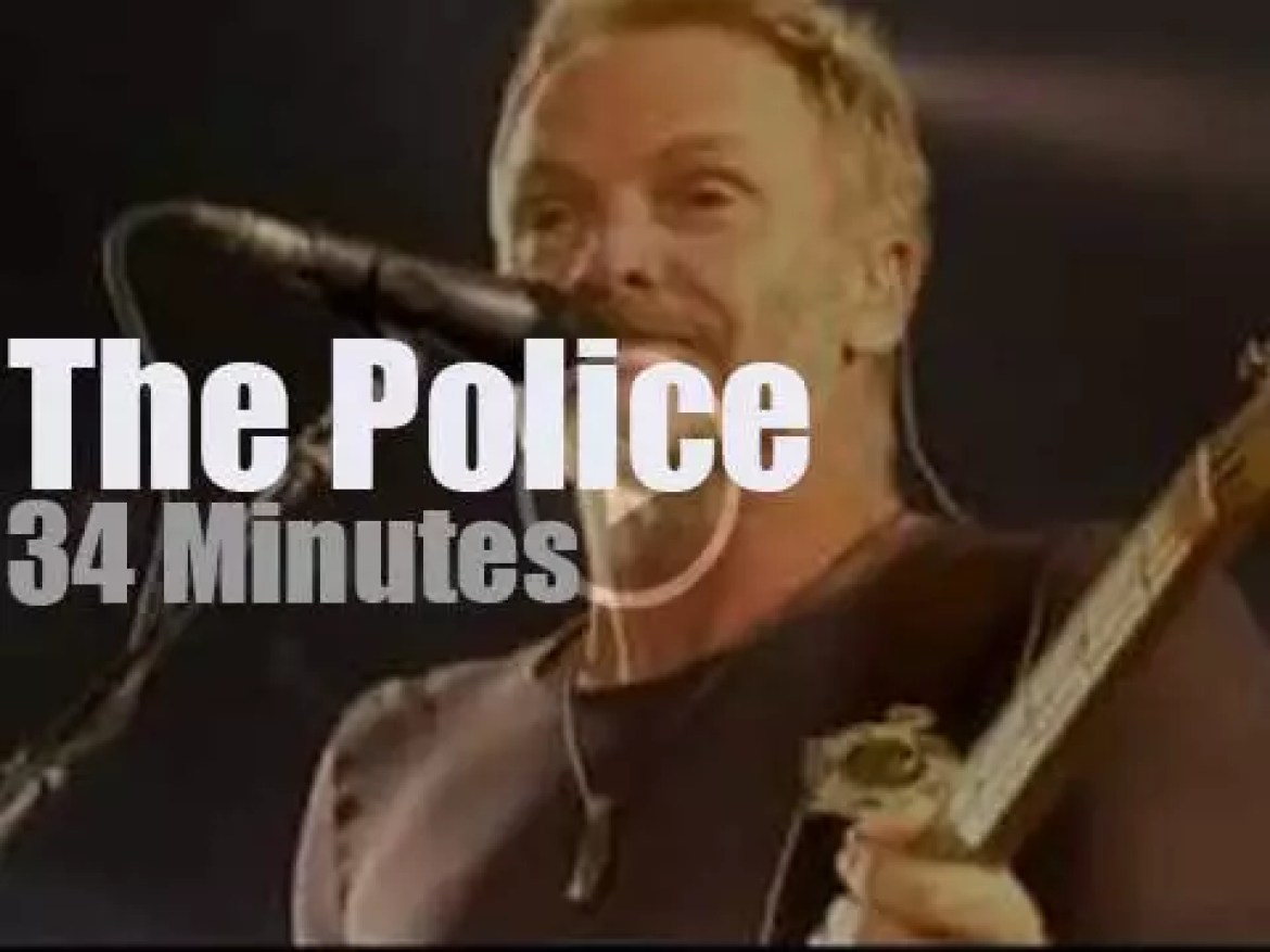 The Police reunite at 'Isle of Wight Festival' (2008)