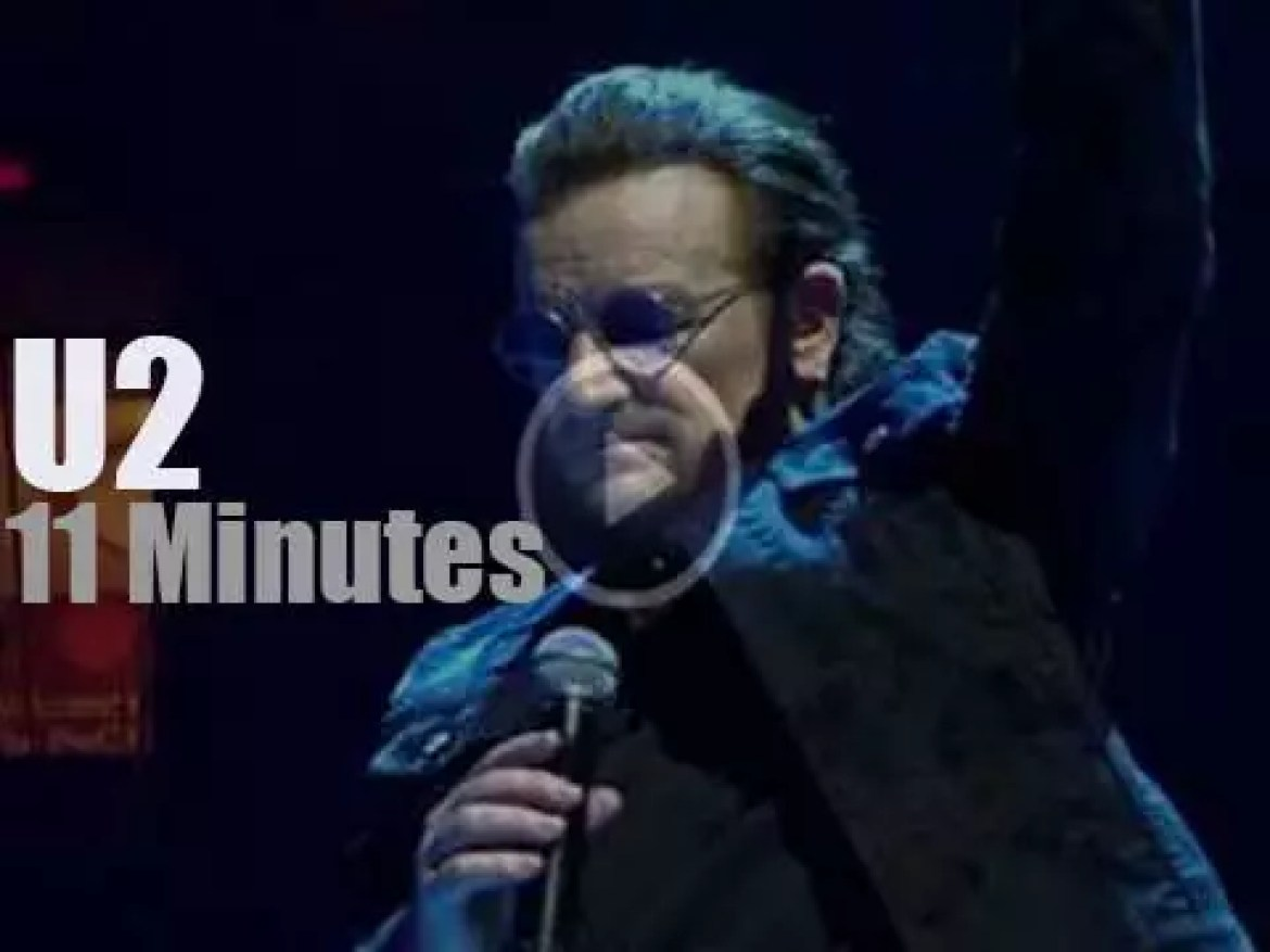U2 spend two nights in DC (2018)