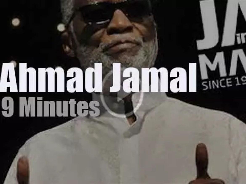 Ahmad Jamal plays at 'Jazz in Marciac' (2013)