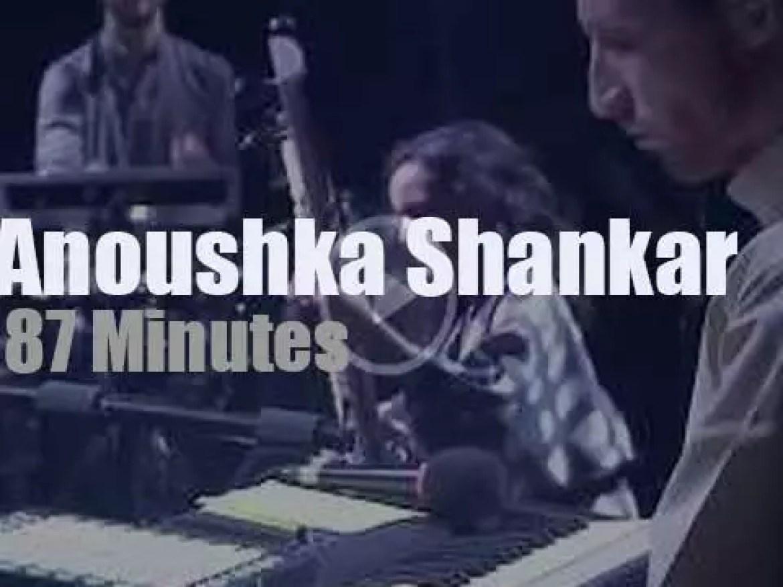 Anoushka Shankar attends a German festival (2017)