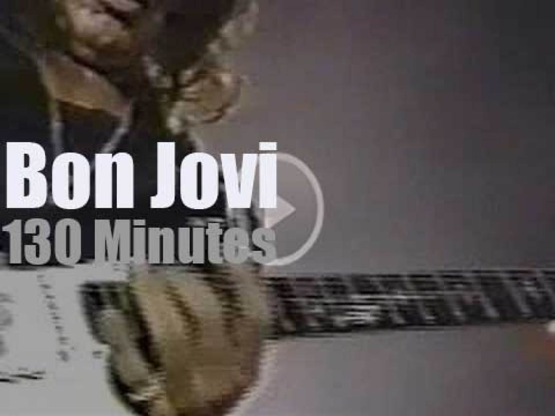 Bon Jovi do not sleep in Buffalo (1993)