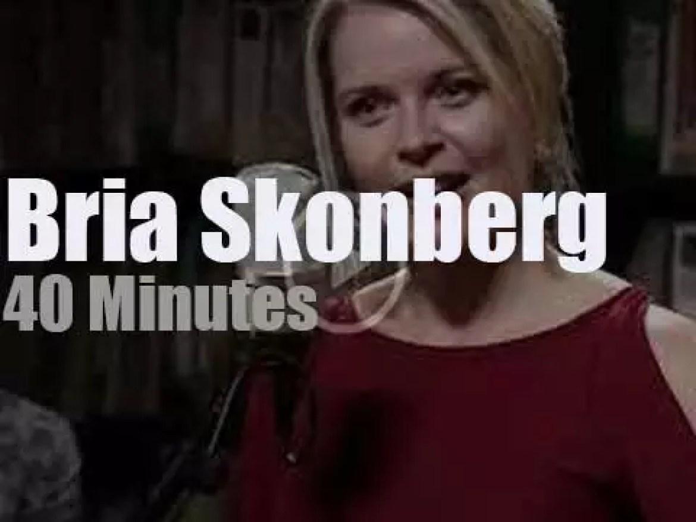Bria Skonberg  plays a short set at Paste Studios (2017)