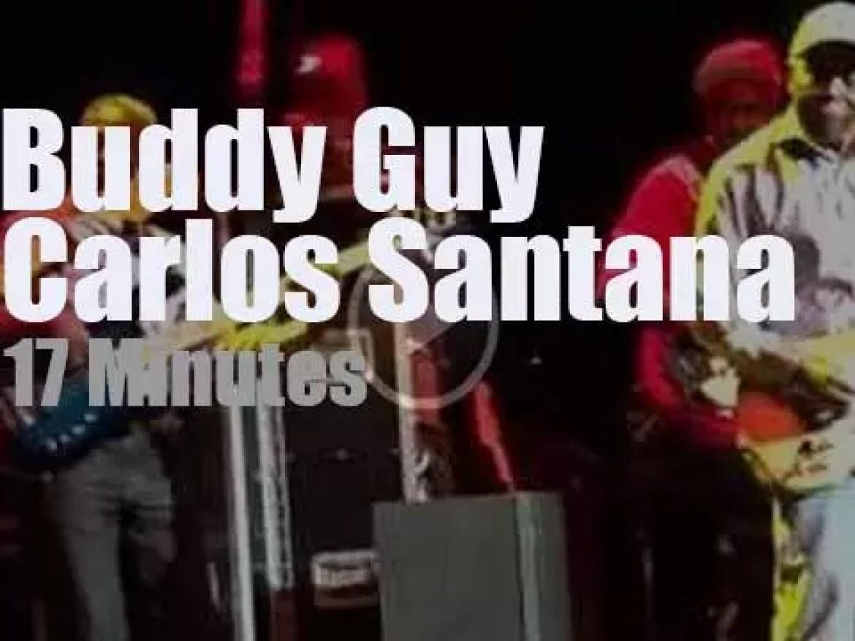 Buddy Guy invites Carlos Santana in San Francisco (2016)