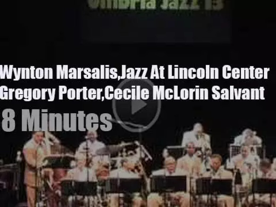 Cecile McLorin Salvant and  Gregory Porter guest with Wynton Marsalis and the Lincoln Orchestra (2013)