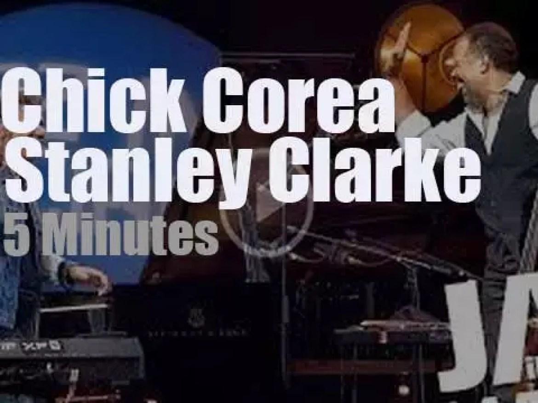 Chick Corea meets Stanley Clarke at 'Jazz in Marciac' (2014)