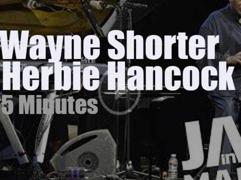 Herbie Hancock meets Wayne Shorter at 'Jazz in Marciac' (2014)