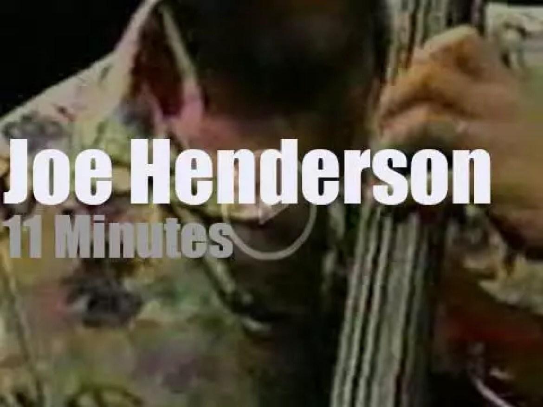 Joe Henderson plays at Umbria Jazz (1993)