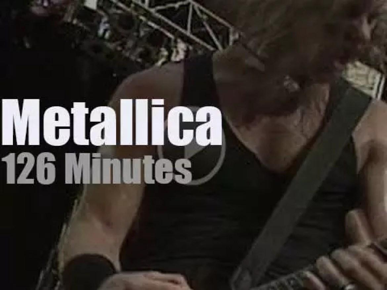 Metallica serenade Washington, D.C (1992)