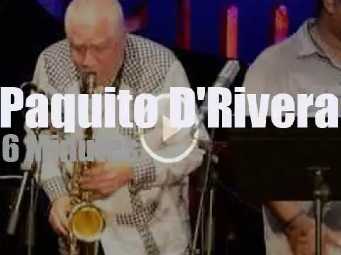 Paquito D'Rivera brings his Sextet to Barcelona (2014)