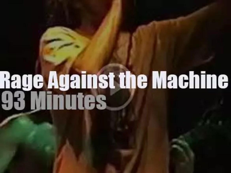 Rage Against The Machine come to Philadelphia (1996)