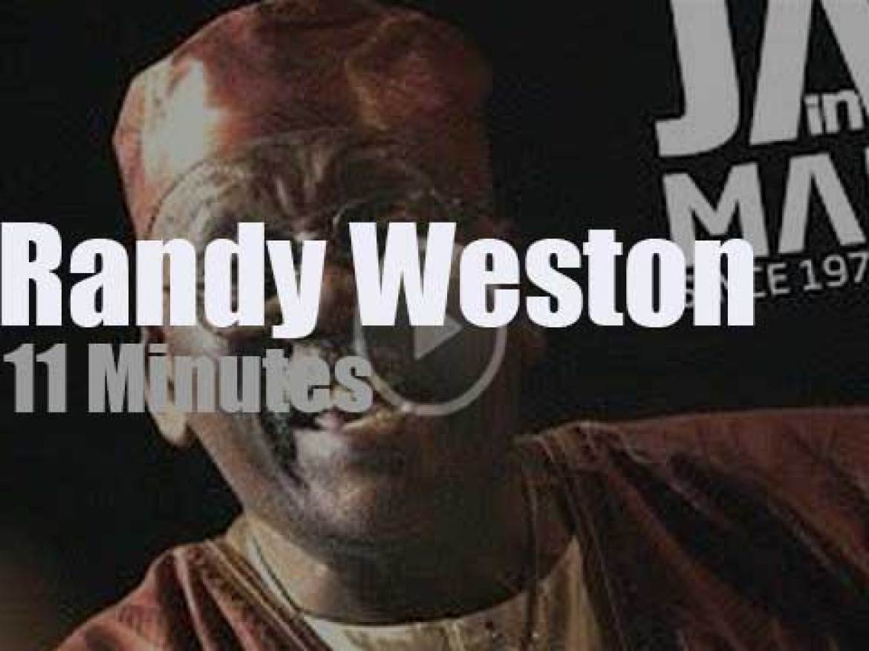 Randy Weston plays at 'Jazz in Marciac' (2010)