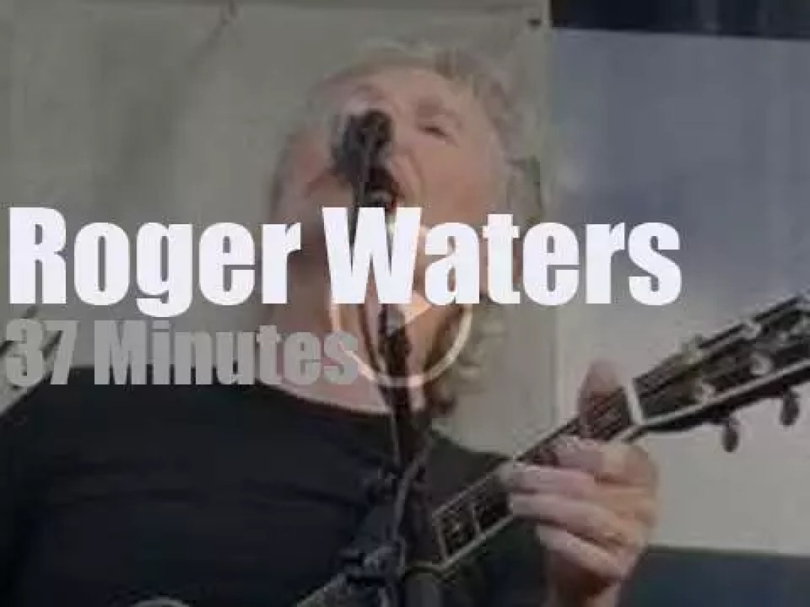 Roger Waters and friends are in Newport (2015)