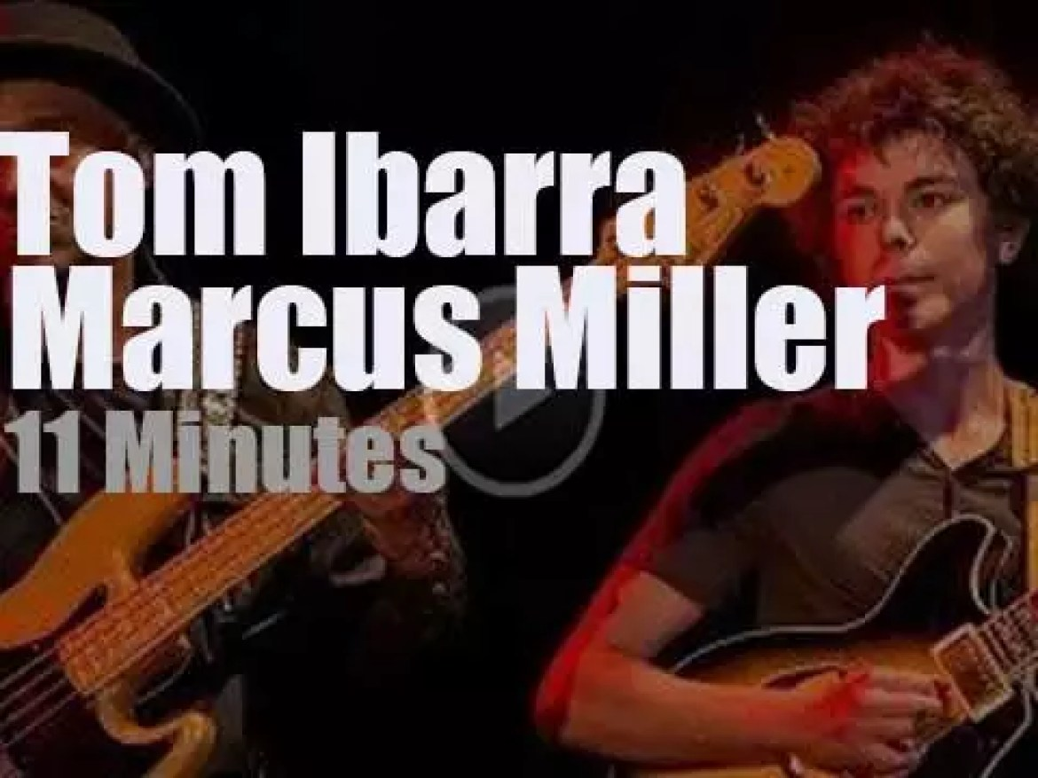 Tom Ibarra sits in with Marcus Miller (2016)