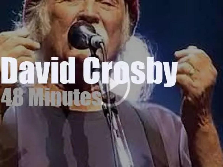 David Crosby sings in Paris (2018)