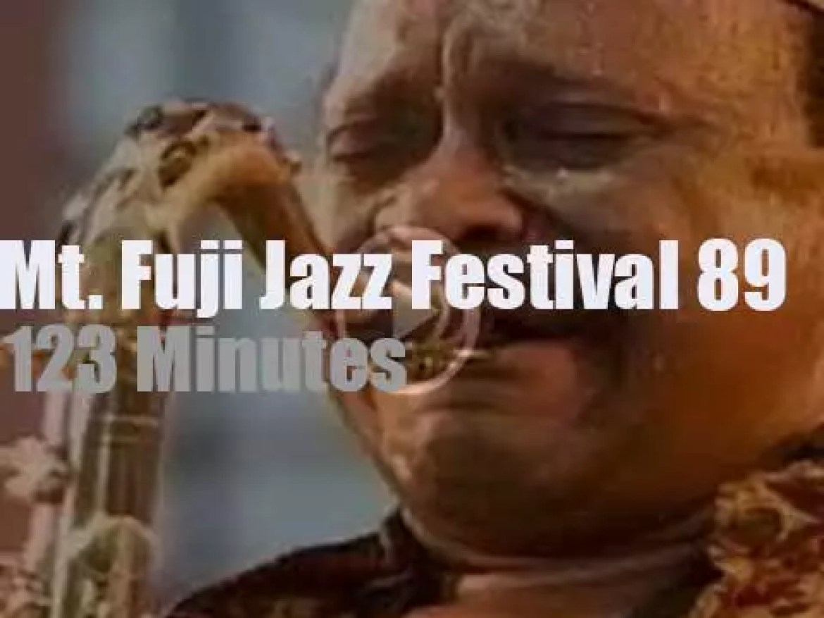 Major jazz artists celebrate Blue Note 50th Anniversary in Japan (1989)