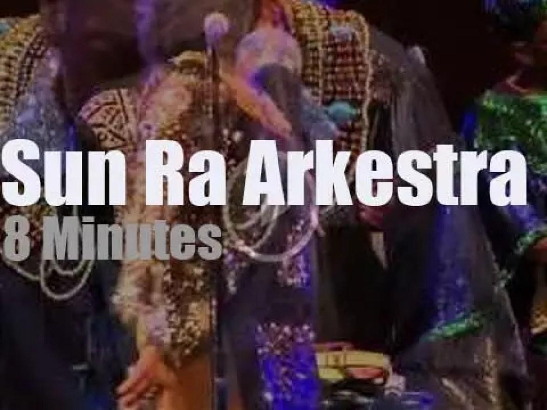 Sun Ra Arkestra perform at  Chicago Jazz Festival (2014)