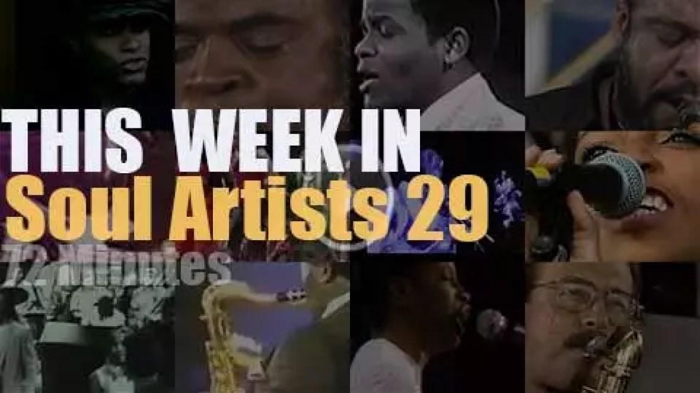 This week In Soul Artists 29