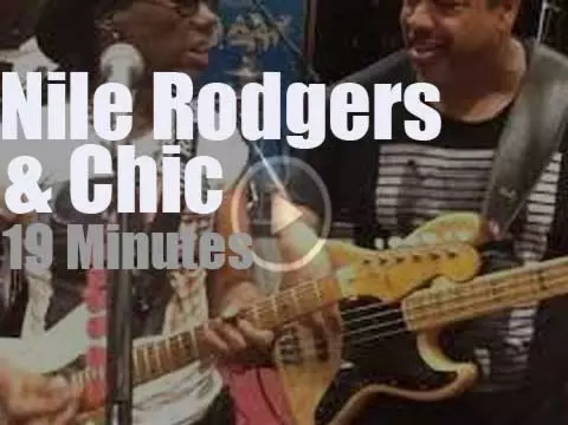 BBC tapes Nile Rodgers and Chic (2018)