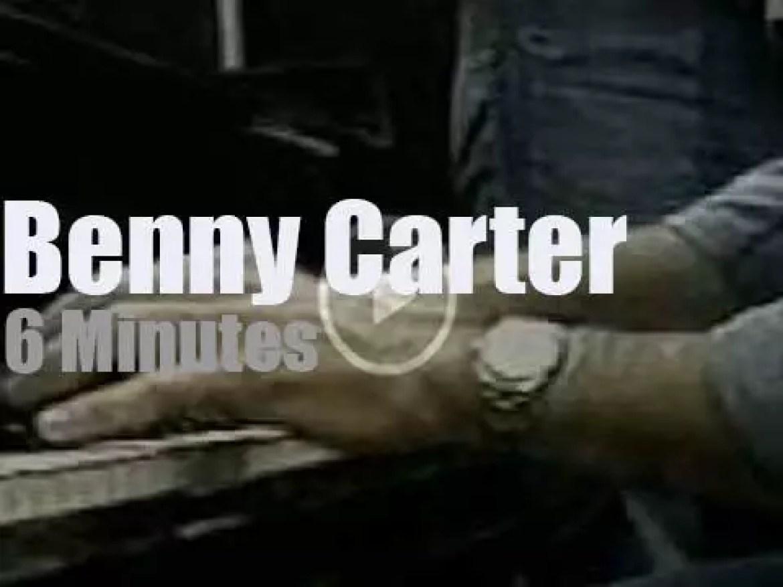 Benny Carter opens Festival Internacional de Jazz Sao Paulo (1978)