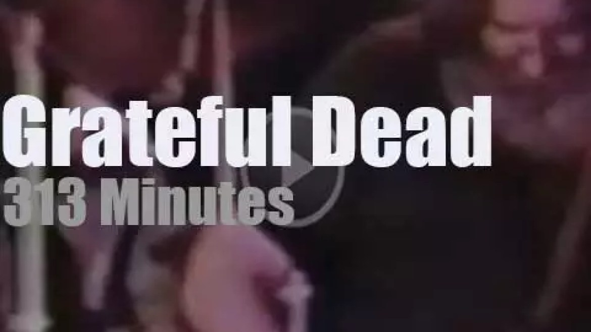 Grateful Dead play two sets in Austin (1983)