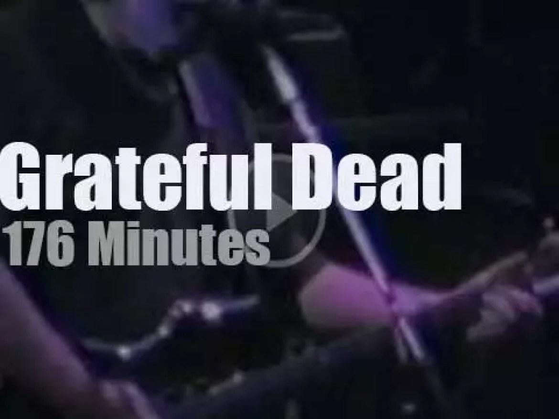 Grateful Dead spend three nights in the Garden (1990)