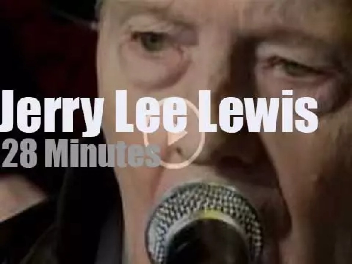 Jerry Lee Lewis supports the farmers (2008)