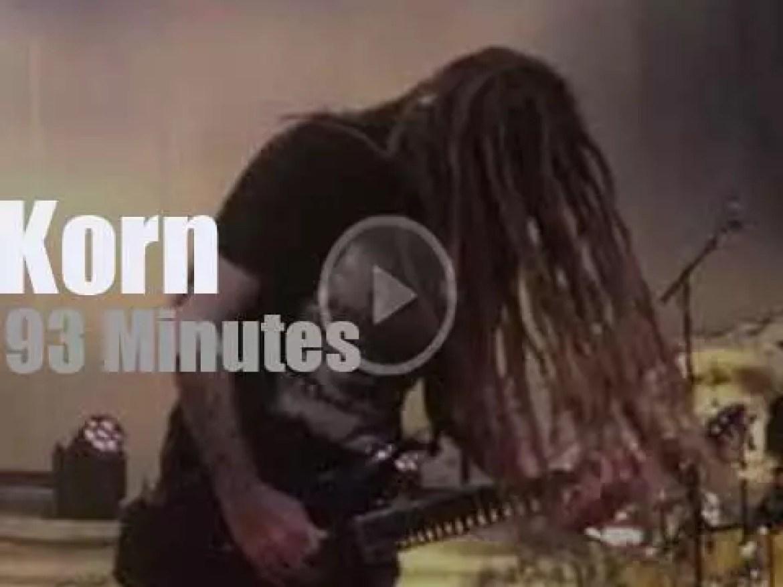 Korn celebrate 'Follow The Leader' 20th Anniversary  (2018)