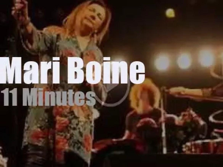 Mari Boine sings in Stockholm (2017)