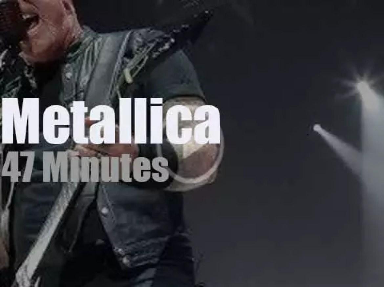 Metallica serenade Sioux Falls (2018)