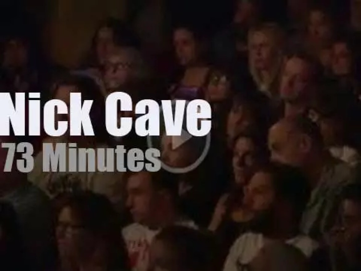 Nick Cave launches a documentary in NYC (2014)