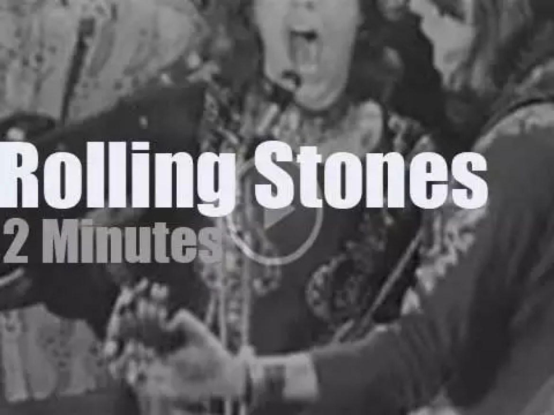 The Rolling Stones visit Hamburg (1970)