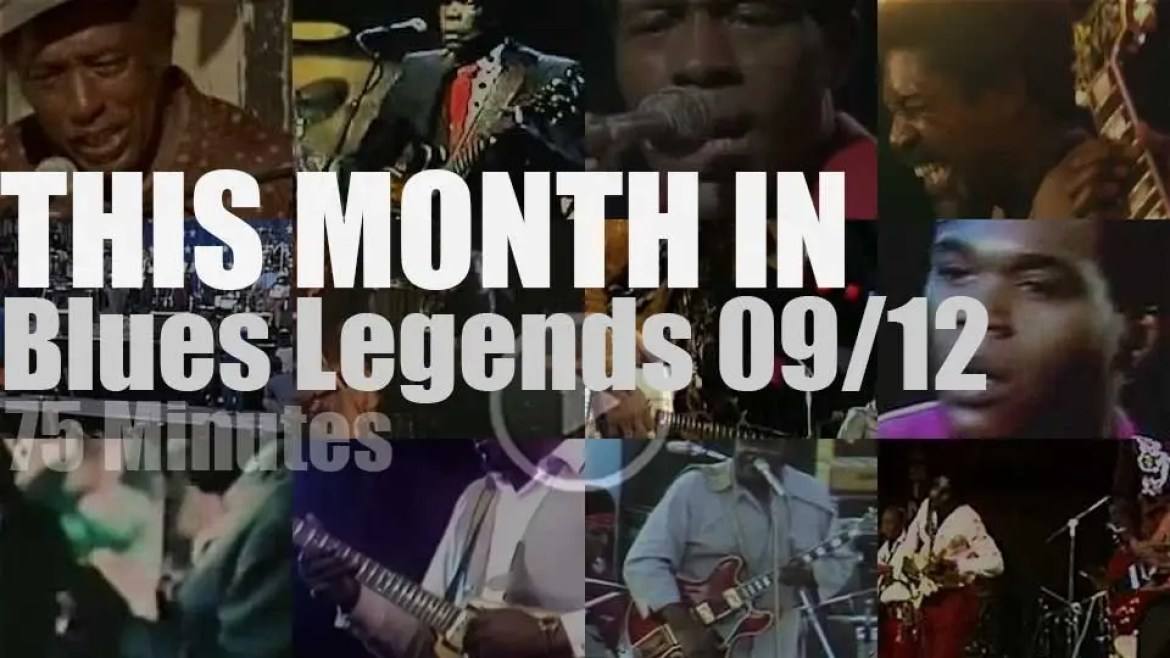 This month In Blues Legends 09/12